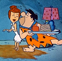 Fred and Barney Fuck Betty Flintstones at Cartoon Porn