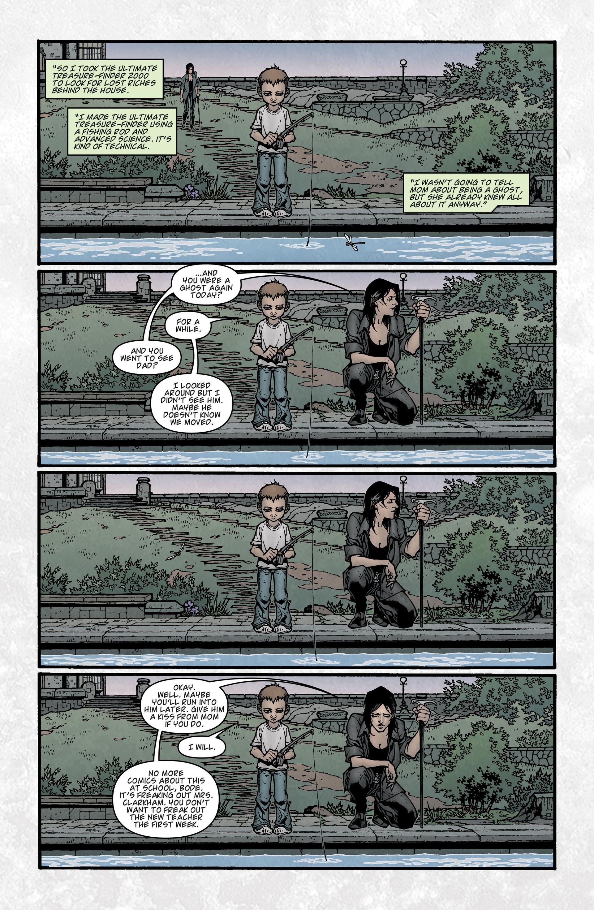 Locke & Key (2008) Issue #2 #2 - English 12