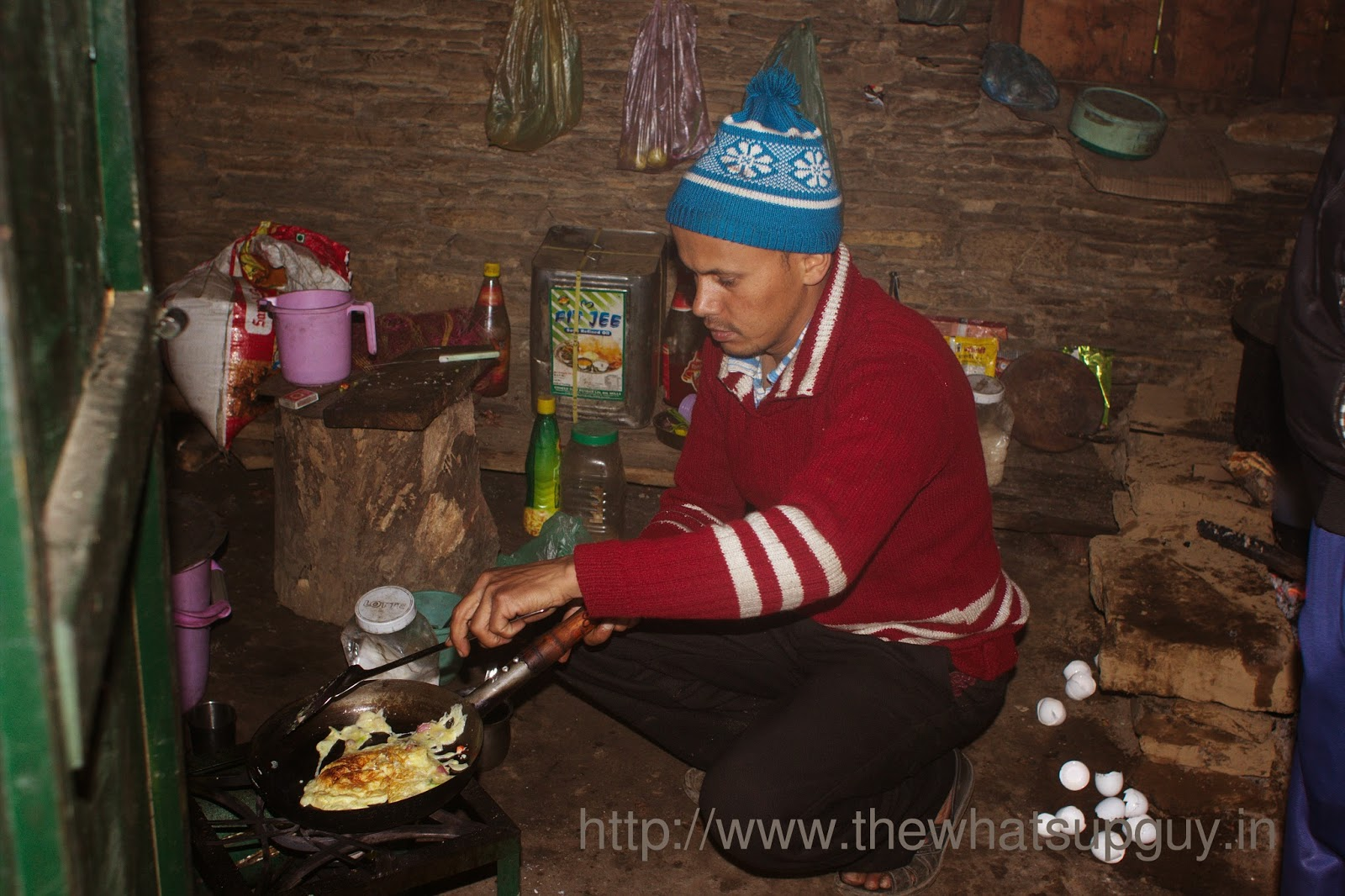 Omllette Roopkund Trek With India Hikes Day 6