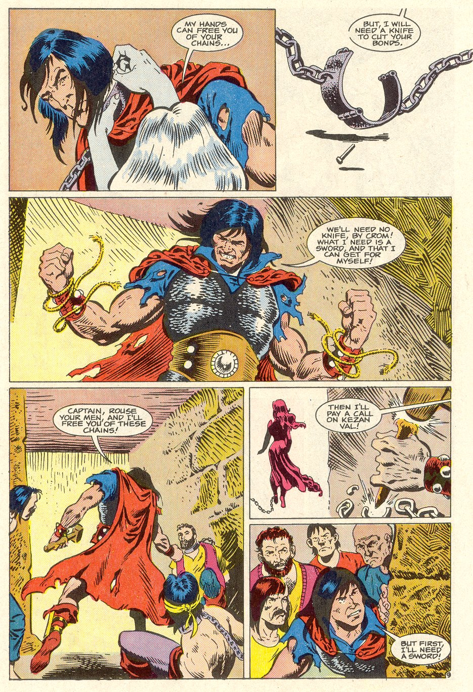 Conan the Barbarian (1970) Issue #186 #198 - English 10