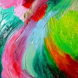 My Abstract Paintings on Pinterest: