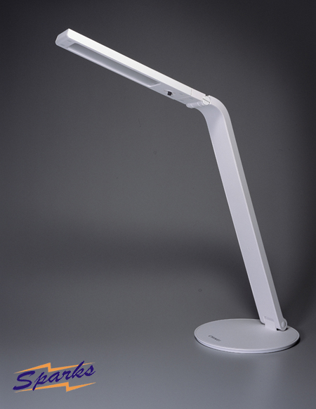 Flexible LED desk lamp with energy saving properties