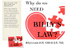 Click Photo To Find Out More About Billy&#39;s Law and NamUs.gov