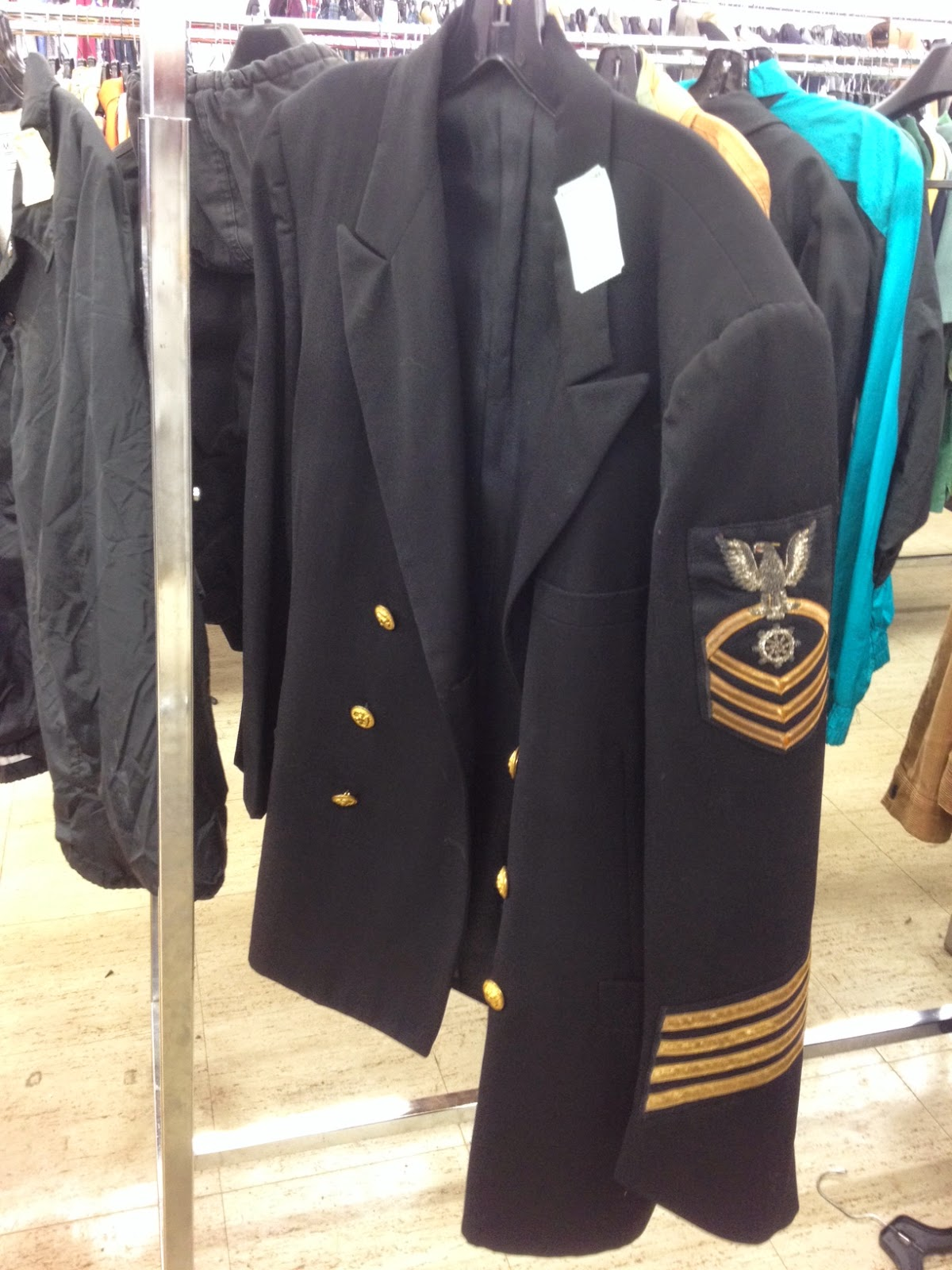 Navy Uniform - Poem #8 for April 2014 Poetry Project