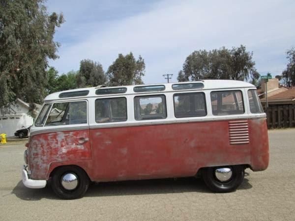 1956 Vw Bus For Sale 23 Window Deluxe
