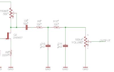 master volume section JHS superbolt schematic
