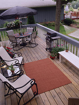 The O.C.D. Life: Friday Inspiration: Deck Decorating