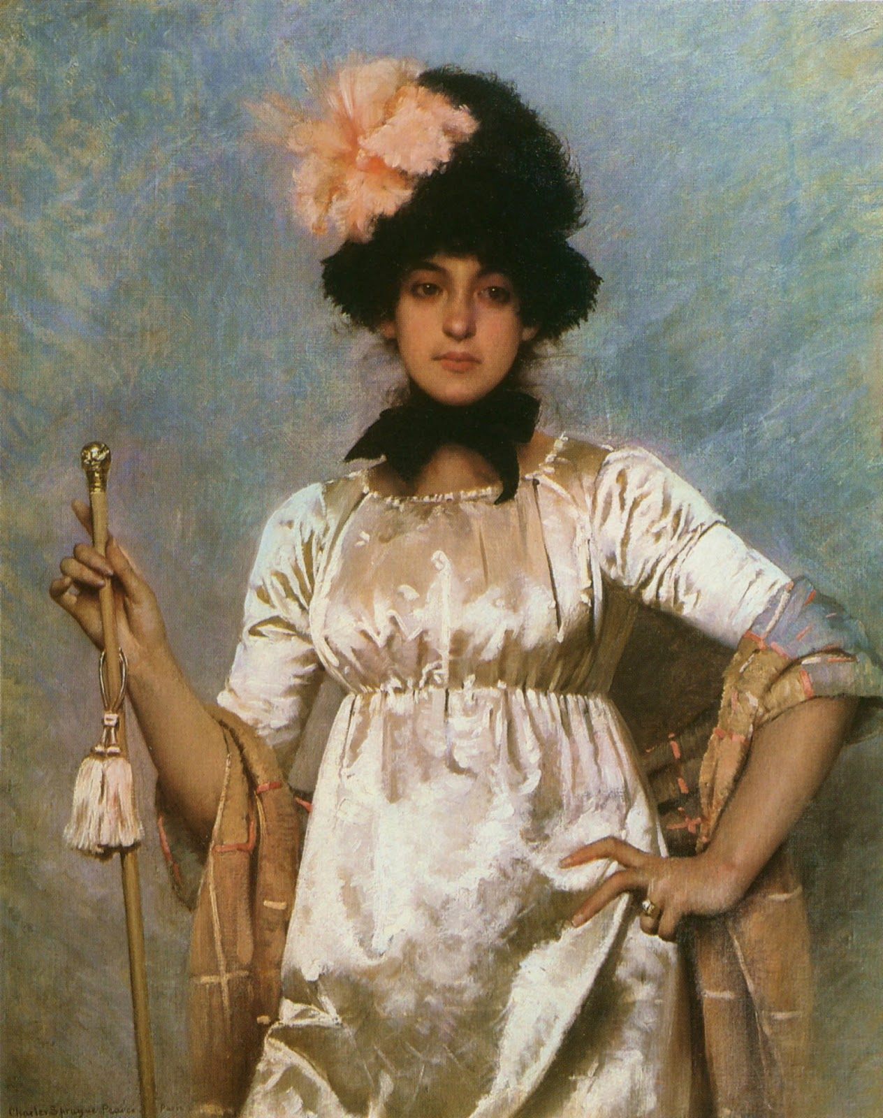 Charles  Sprague  Pearce  woman  of  the  directoire