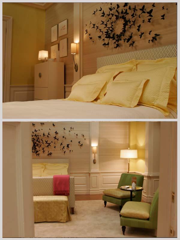 gallery for serena van der woodsen bedroom butterfly wall