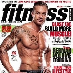 Latest Work Published in Fitness Magazine