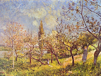 Sisley: Orchard in Spring