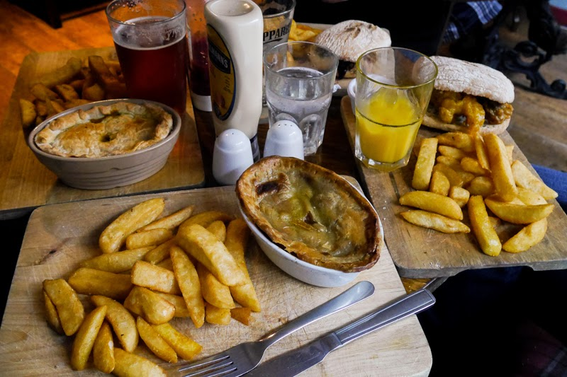 Pies and Chunky Chips