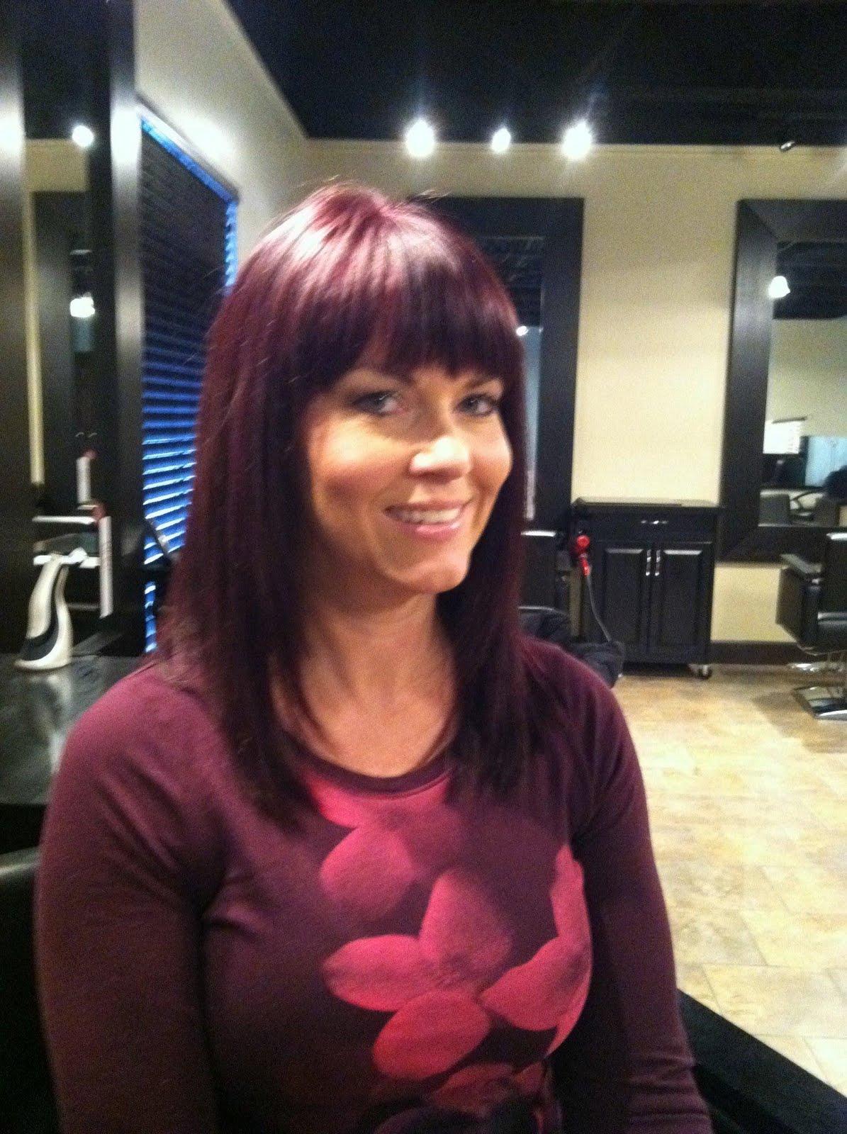 Dark Violet Hair Color