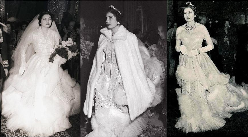 The Royal Order of Sartorial Splendor: Wedding Wednesday: Queen ...
