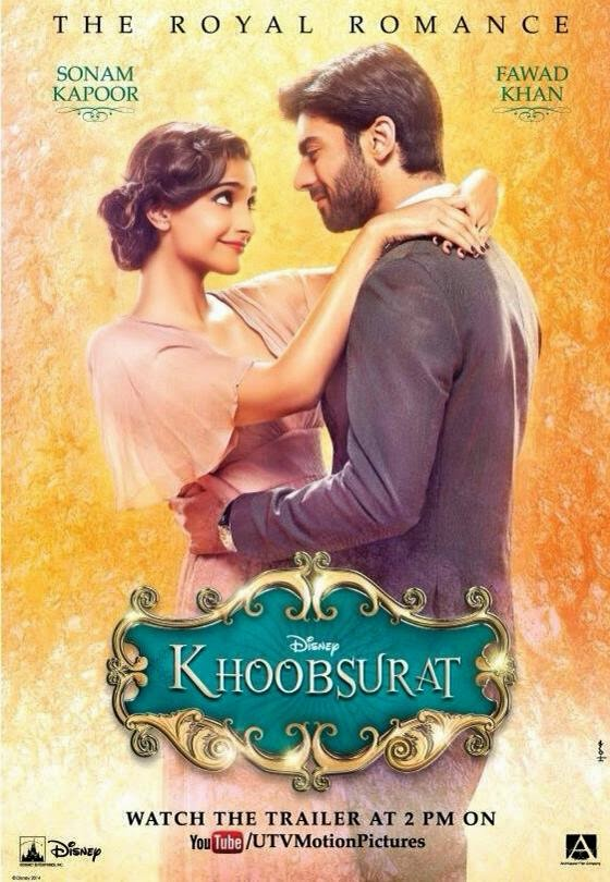 Sonam Kapoor at the trailer launch of her upcoming movie Khoobsurat