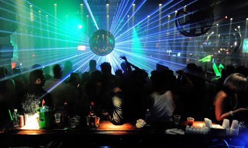 clubbing scene