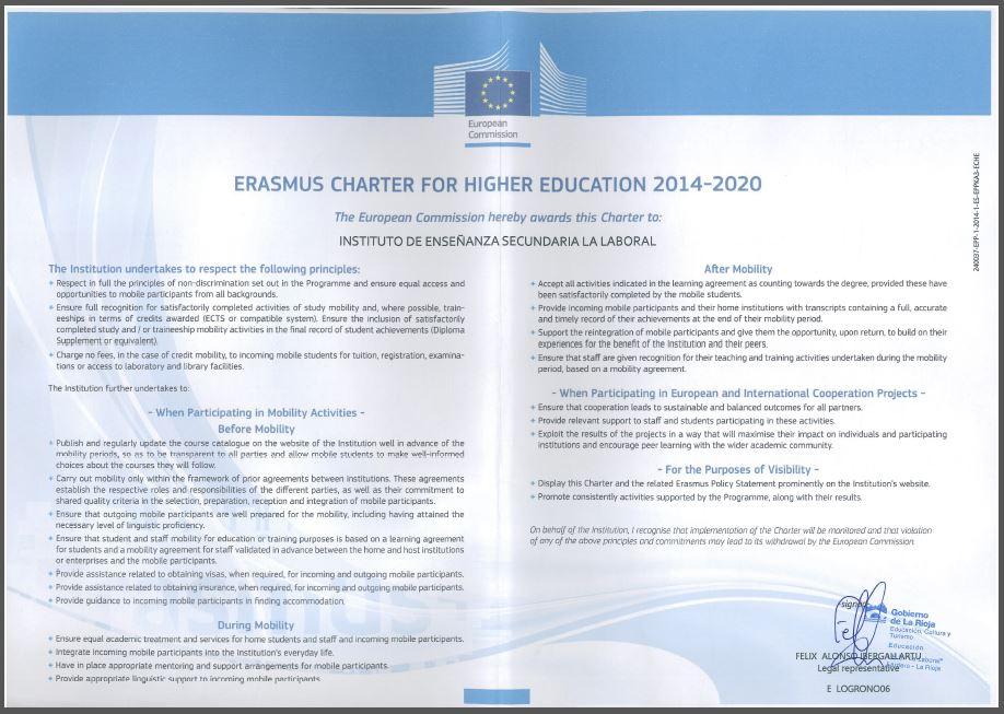 ECHE 2014-2020