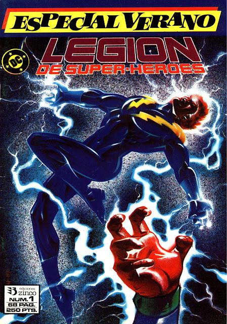 Portada Especial Verano Nº 1 Legión de Superhéroes Ediciones Zinco