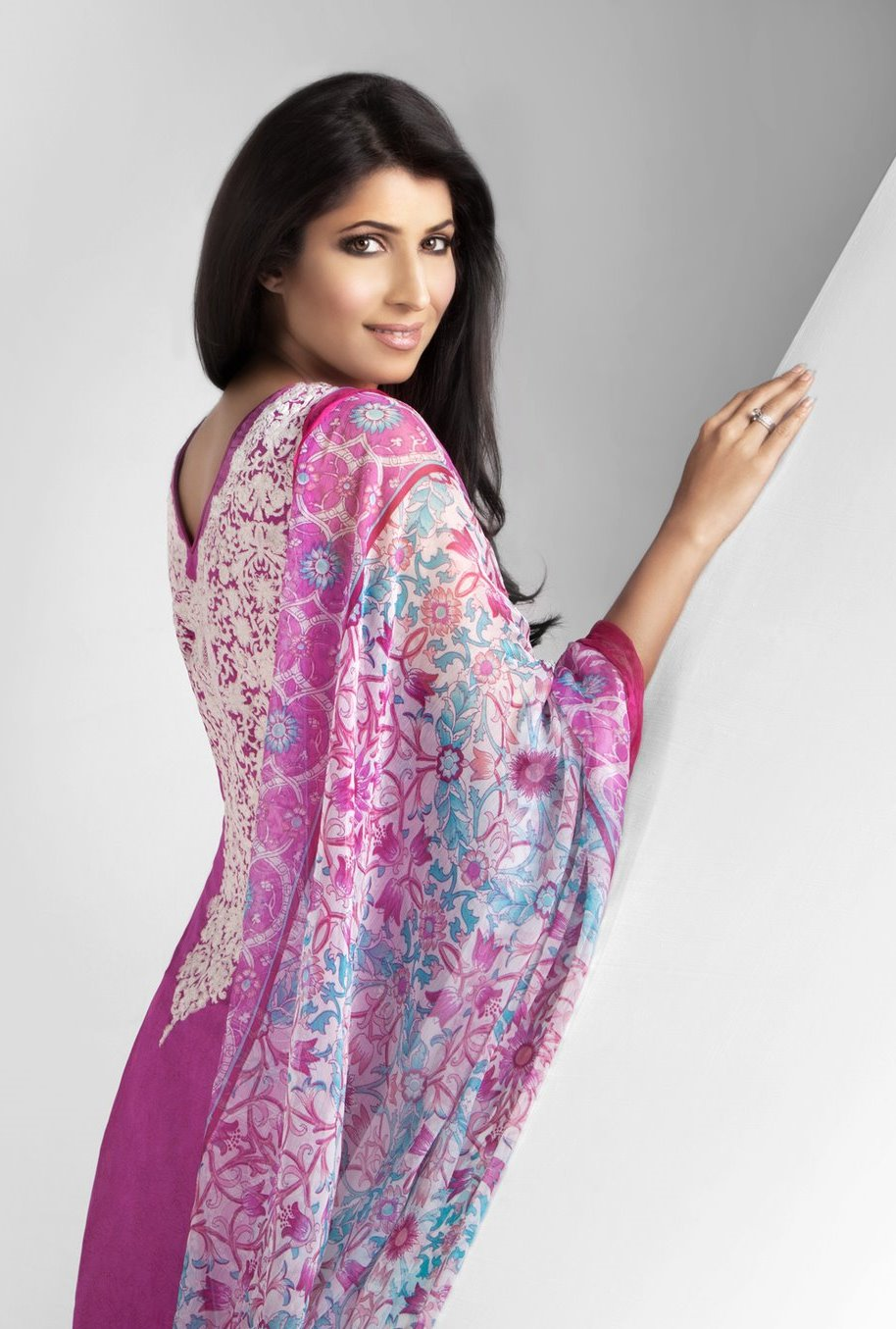 Vaneeza V Lawn Collection 2011