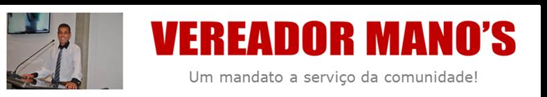 VEREADOR MANO'S