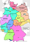 map germany country (map germany country)