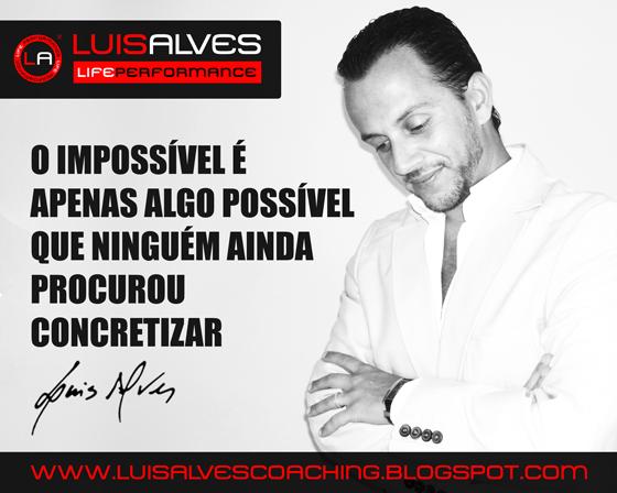 LUIS ALVES COACH FRASES