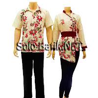 SR669 Grosir Baju Batik pasangan/Couple 2013