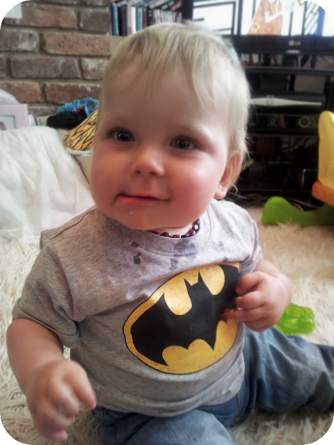 funny face, baby batman, baby pulling funny face, silent sunday