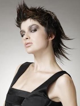 Hair Styles Cilik Short Punk Hairstyles Of Beauty Women