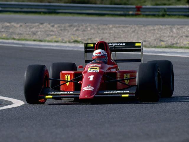 Equipe Ferrari de Formula 1 de 1991 by omelhordaformula1.blogspot.com