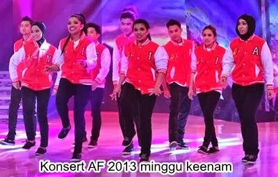 Konsert AF 2013 Minggu Keenam | Komen Juri, Konsert Akademi fantasia 2013 Minggu Ke-6
