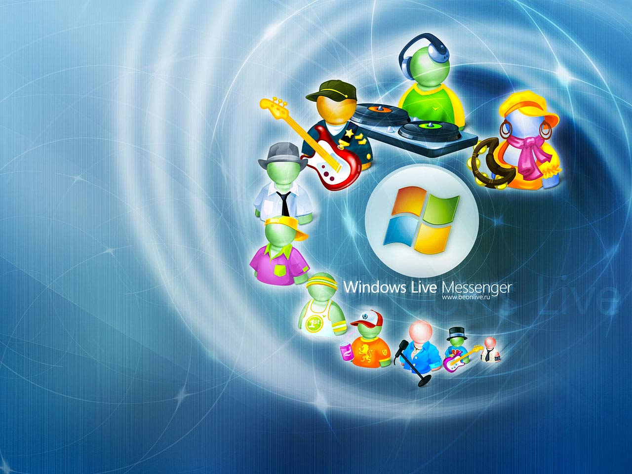 Desktop 3d wallpapers of computers software