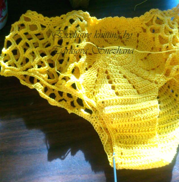 bombacha de bikini tejida al crochet