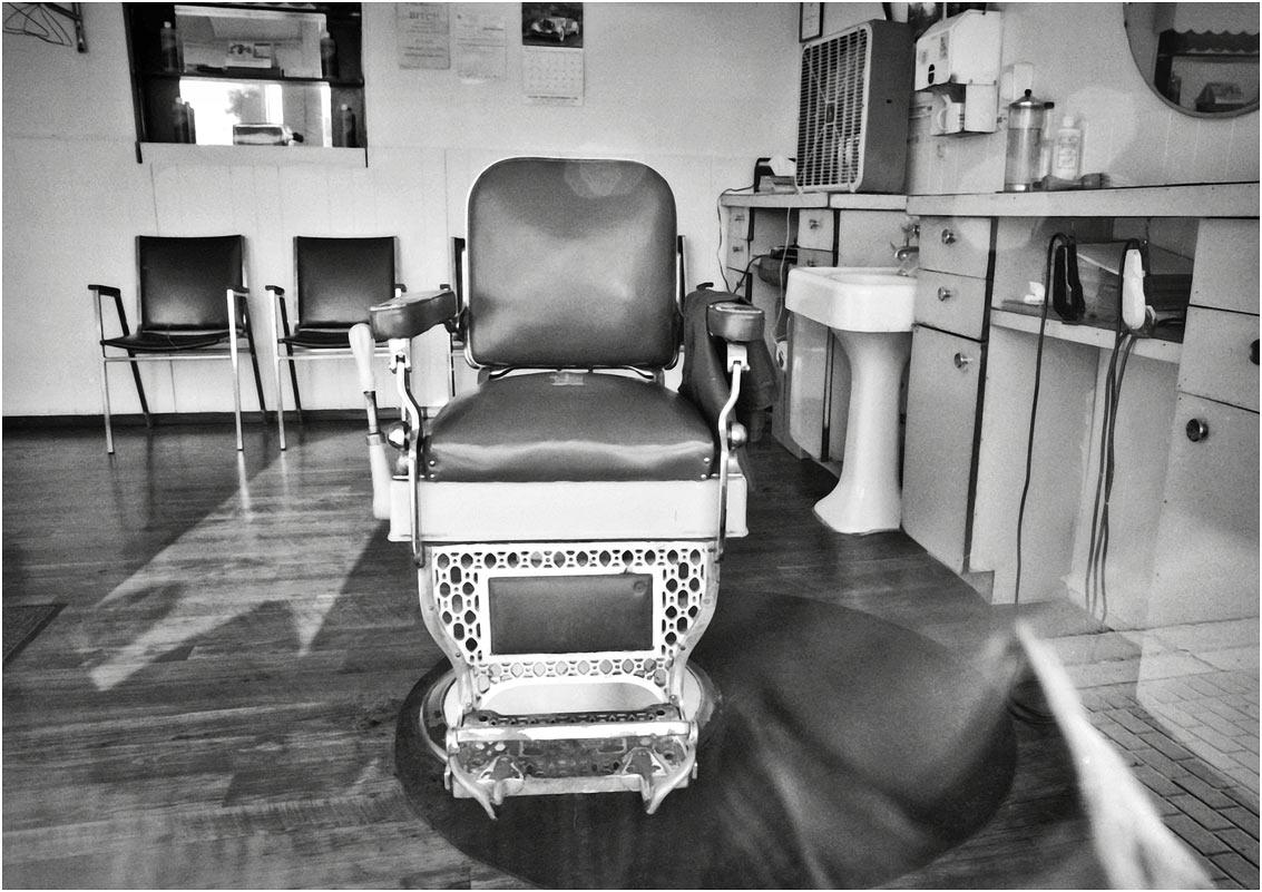 Silverpixel barber chair north bay