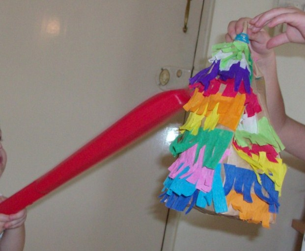 the pinata a craft for destruction Diy piñata boxes for birthday gifts white craft glue confetti or whatever you choose and enjoy all the benefits of a piñata without the destruction.