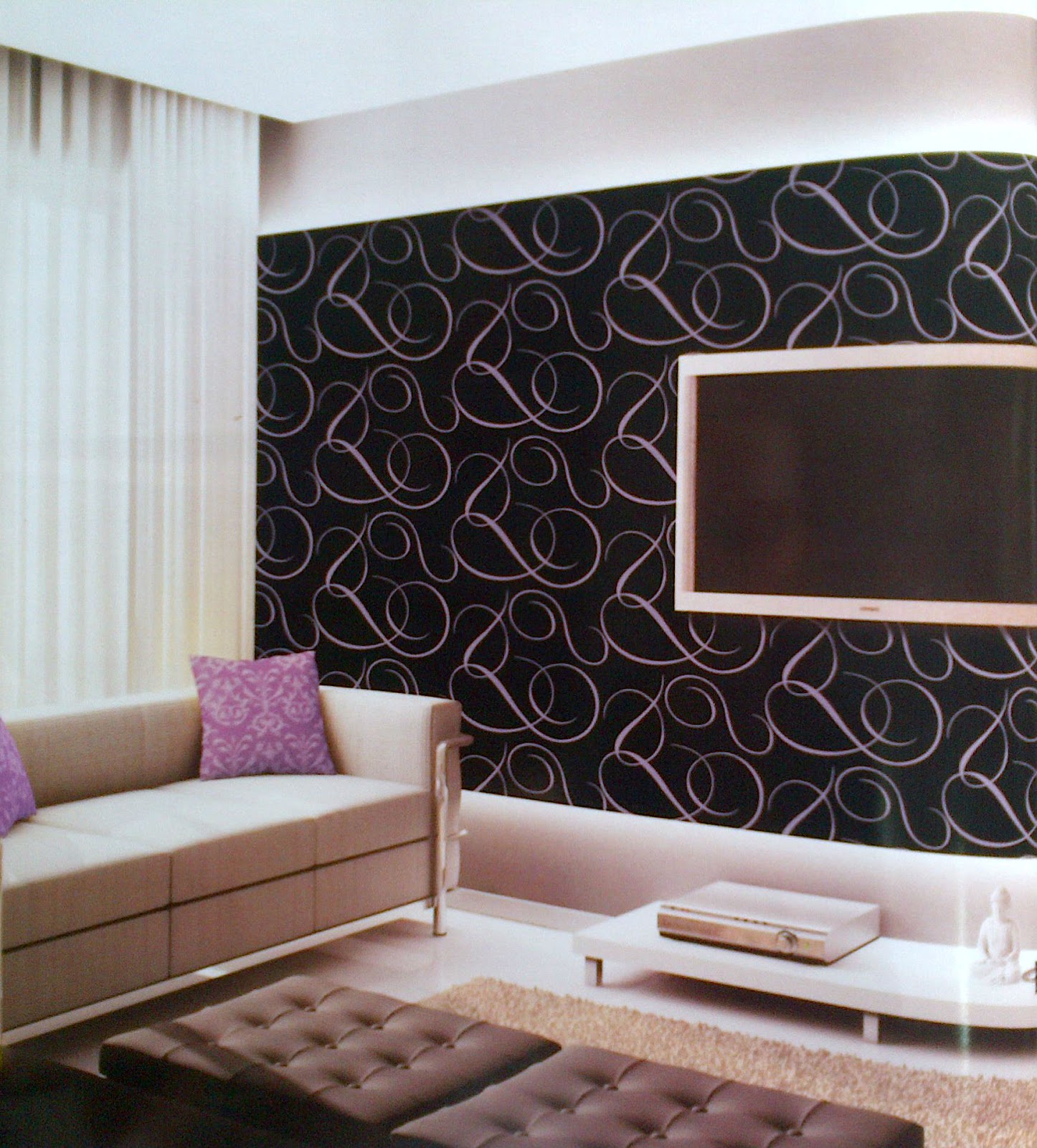 Hauptundneben contoh gambar wallpaper dinding minimalis murah for Wallpaper home murah