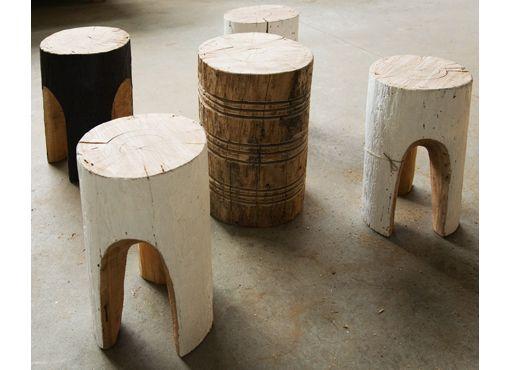 Banco de madeira rústica
