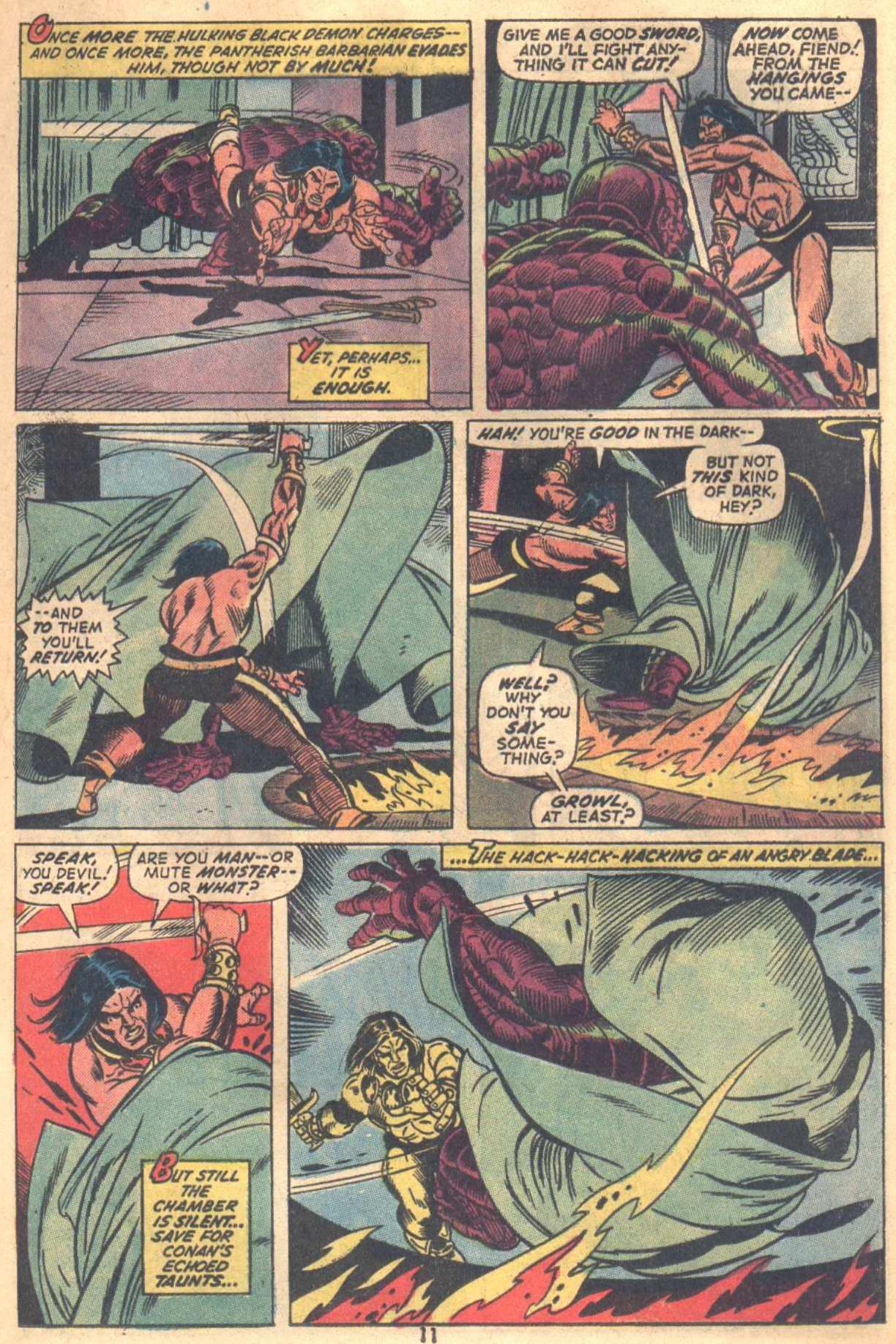 Conan the Barbarian (1970) Issue #18 #30 - English 9