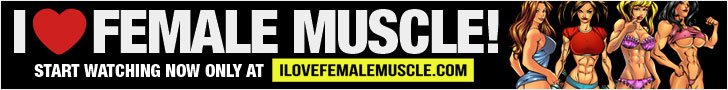 iLoveFemaleMuscle Hot Female Muscle Banner