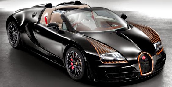 Black Bess Bugatti Veyron Grand Sport Vitesse