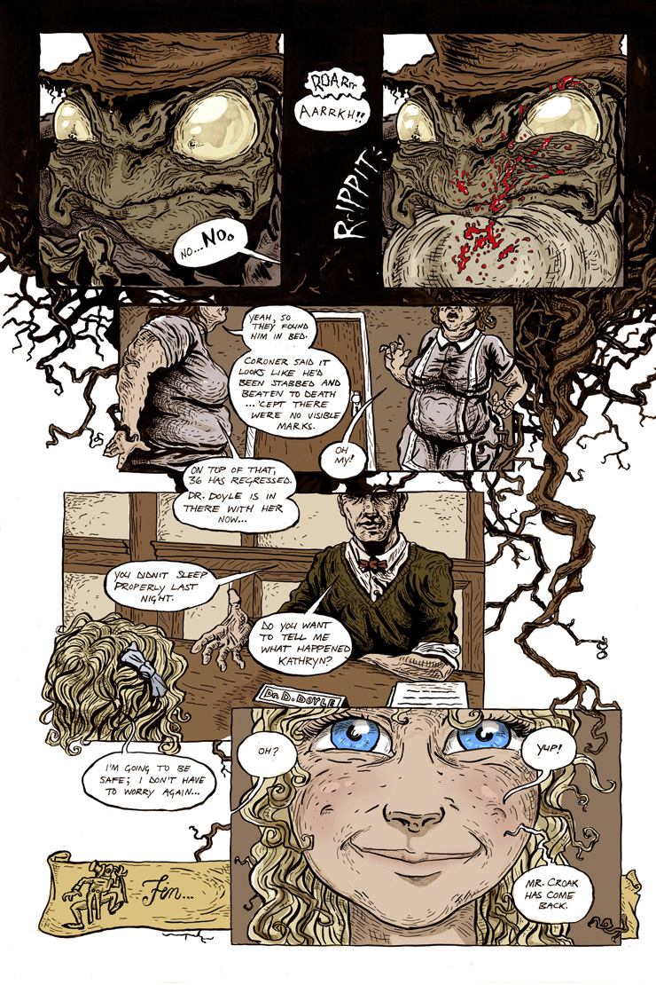 eagle awards nominee land-of-all-sorts psycho frog comic