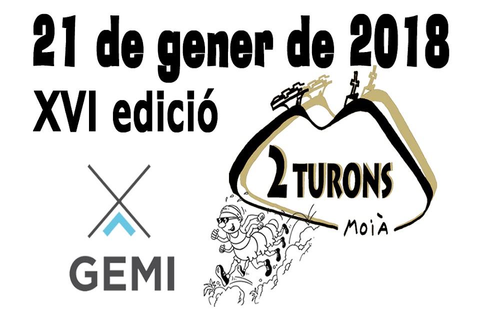 XVI cursa de muntanya 2 TURONS