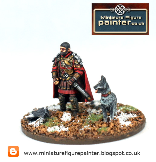 28mm ancient miniature painter