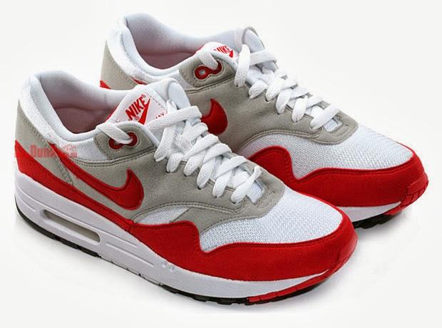 zapatillas nike air max rojas