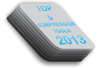 Top 5 Compression Tools 2013