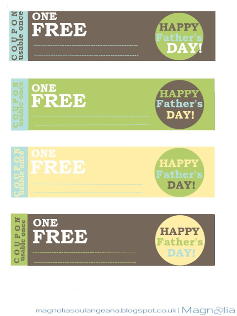 farher's day free printable