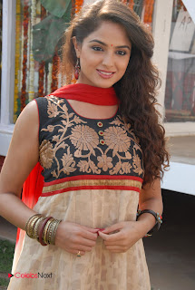 Asmita Sood Latest Pictures in Salwar Kameez at at Aa Aiduguru Movie Opening 0006