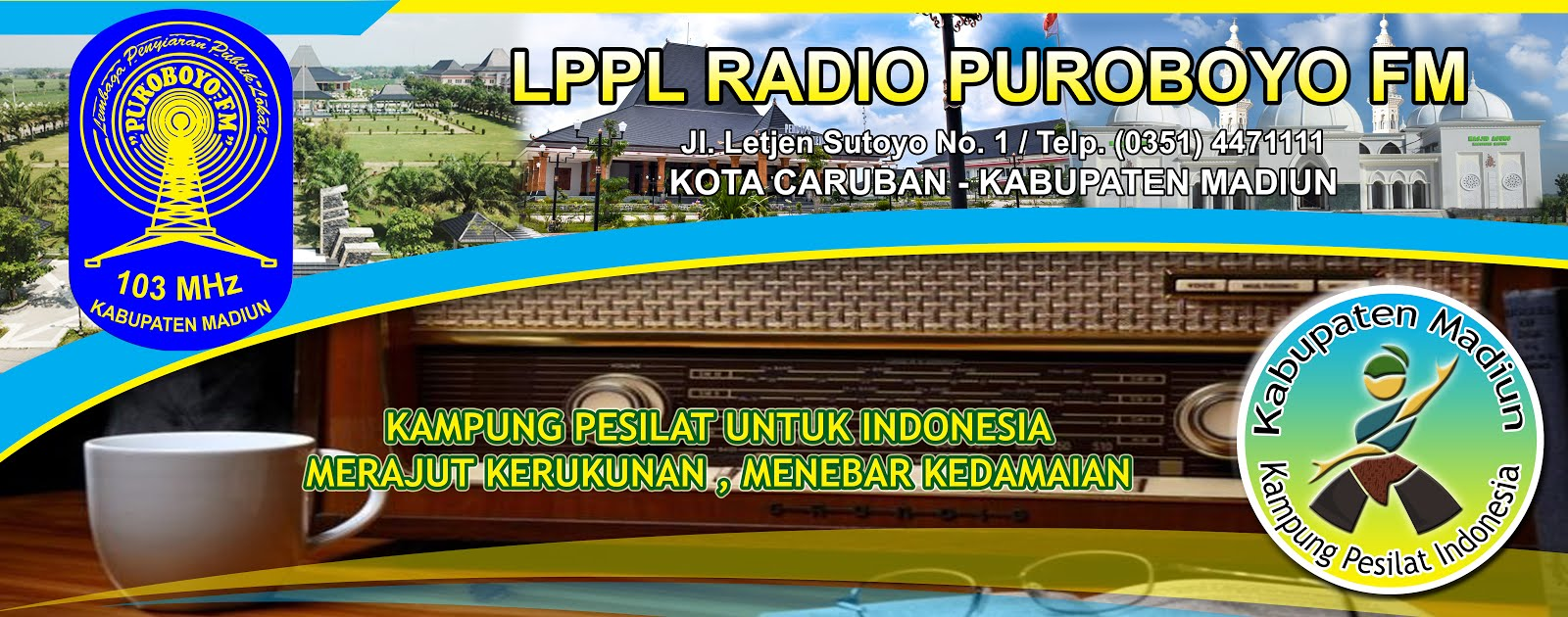 LPPL RADIO PUROBOYO FM CARUBAN KABUPATEN MADIUN