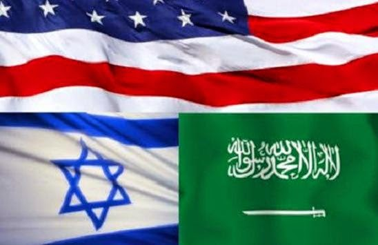 Resultado de imagem para Israel Arabia Saudita EUA