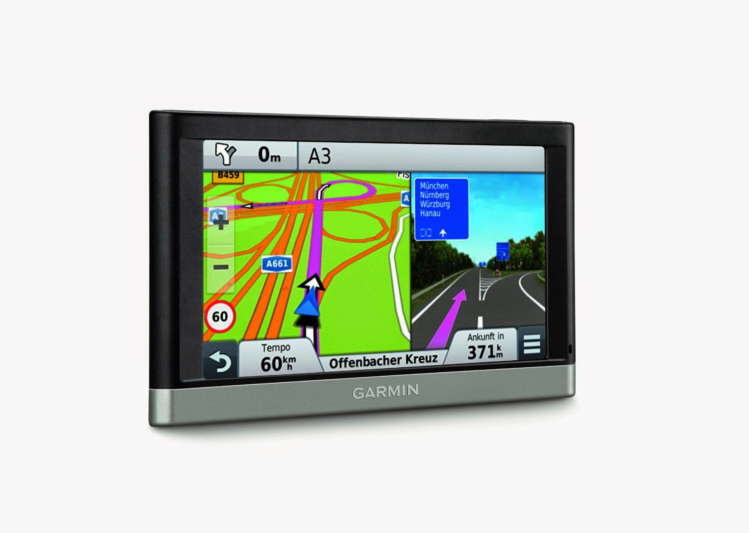 garmin nuevi 2557lmt 5 inch portable vehicle gps with lifetime maps and traffic
